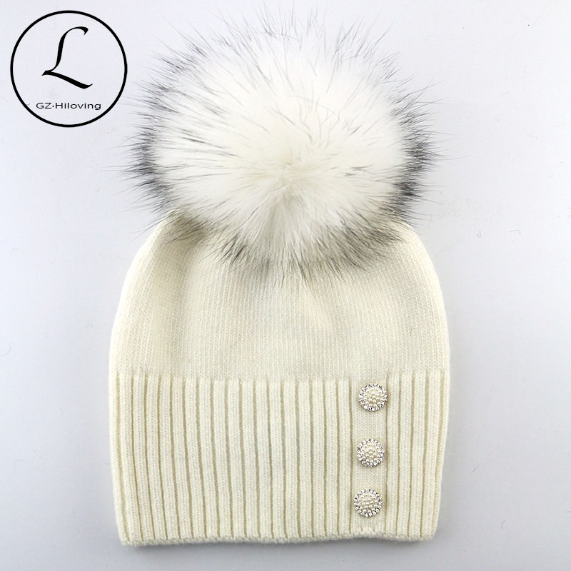 GZHILOVINGL 2016 Wool Hats For Women And Girls Pom Pom Knit Beanie Women Elegant Beanies Winter Hat Brand Knitted Caps SkulliesОдежда и ак�е��уары<br><br><br>Aliexpress