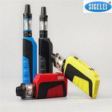 Buy Original SIGELEI E1 Box Mod Kit 510 thread 0.91 inch OLED Display 2.0ml Tank Vape Start Kit Electronic Cigarette Kit for $40.46 in AliExpress store