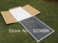 200w 12 v solar panel kit - 2 x 100w solar panel for home system, RV boat ,car ,12v battery, off grid, free shipping(China)
