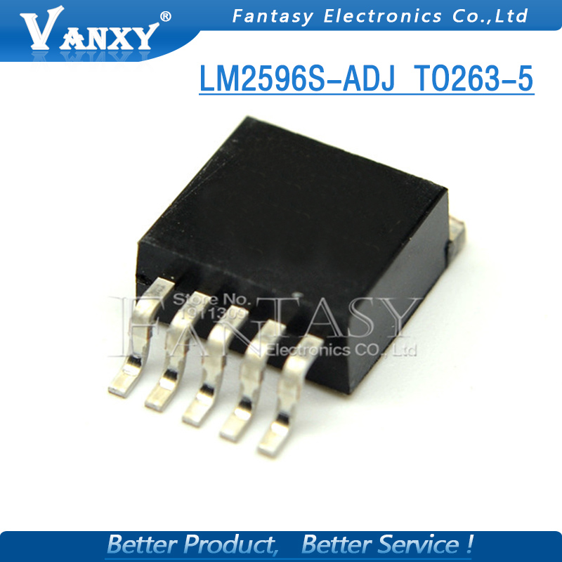 10PCS LM2596S-ADJ TO263 LM2596-ADJ TO-263 new and original IC