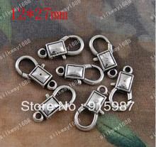 Sweet Bell 50PCS/lot 27*12mm lobster clasp, buckle bags buckle design restoring ancient ways lobster clasp  accessories
