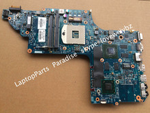 682016-001 Motherboard for HP DV7 DV7-7000 Notebook 48.4ST10.031 HM77 with GT630M/2G GPU