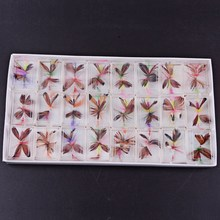 48pcs Butterfly Fly Fishing Flies Trout Bass Bumble Size Factory Customize Flies Lure Bait Butterfly  Fishing