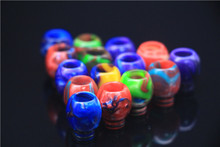 Buy New Spherical Resin Drip Tip LEIQIDUDU 510 Atomizers Drip Tip E Cig Batteries Vape Mod Colorful Drip Tip for $26.00 in AliExpress store