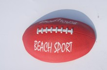 Random pattern color 5 rubber balls rugby football beach ball Training and Teaching(China)