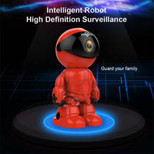 Hiseeu Wireless IP Camera Night Vision IP Network Camera CCTV Support Two-way Audio Wifi HD 960P 1.3MP Robot Camera Dropshipping