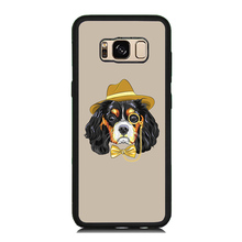 Fashion Straw Hat Dog Paint Mobile Phone Case For Samsung Galaxy S8 S8 Plus S7 S6 Edge S5 S5 Mini Soft Rubber Plastic Back Cover