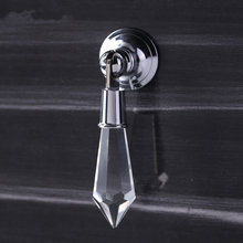 Clear Crystal Drawer Pulls Drop Bright Silver Sparkly Dresser Handles Knobs Decorative Furniture Hardware Kitchen Cupboard Pull()