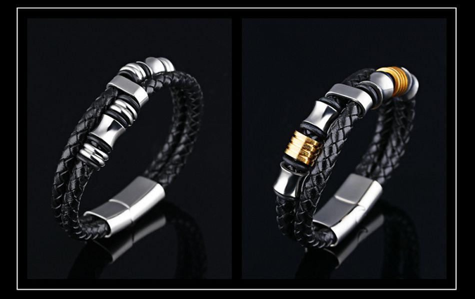 6-Leather Bracelet