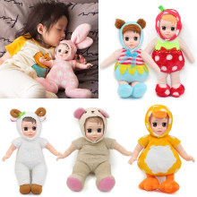 Animals Plush Stuffed Baby Doll Simulated Babies Sleeping Dolls Children Toys Birthday Gift For dog duck doll reborn