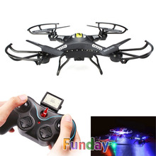 JJRC H8C DFD F183 One-Key Return Big RC Quadcopter with Camera HD 2.0MP Remote Control Helicopter Headless CF Mode UFO Drone