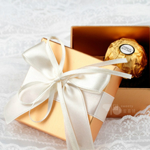 50psc/lot Custom Butterfly Wedding Candy Box Love Contracted Series Golden Good Creative Personality Joyful Box