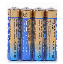 free shipping 12pcs/lot LR03 AAA UM4 alkaline battery primary battery dry battery