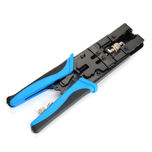 1pc Adjustable Coax Compression Connector Crimper Tool Mayitr Durable Crimping Pliers BNC/RCA/F Connector RG59/58/6 Cable Wire