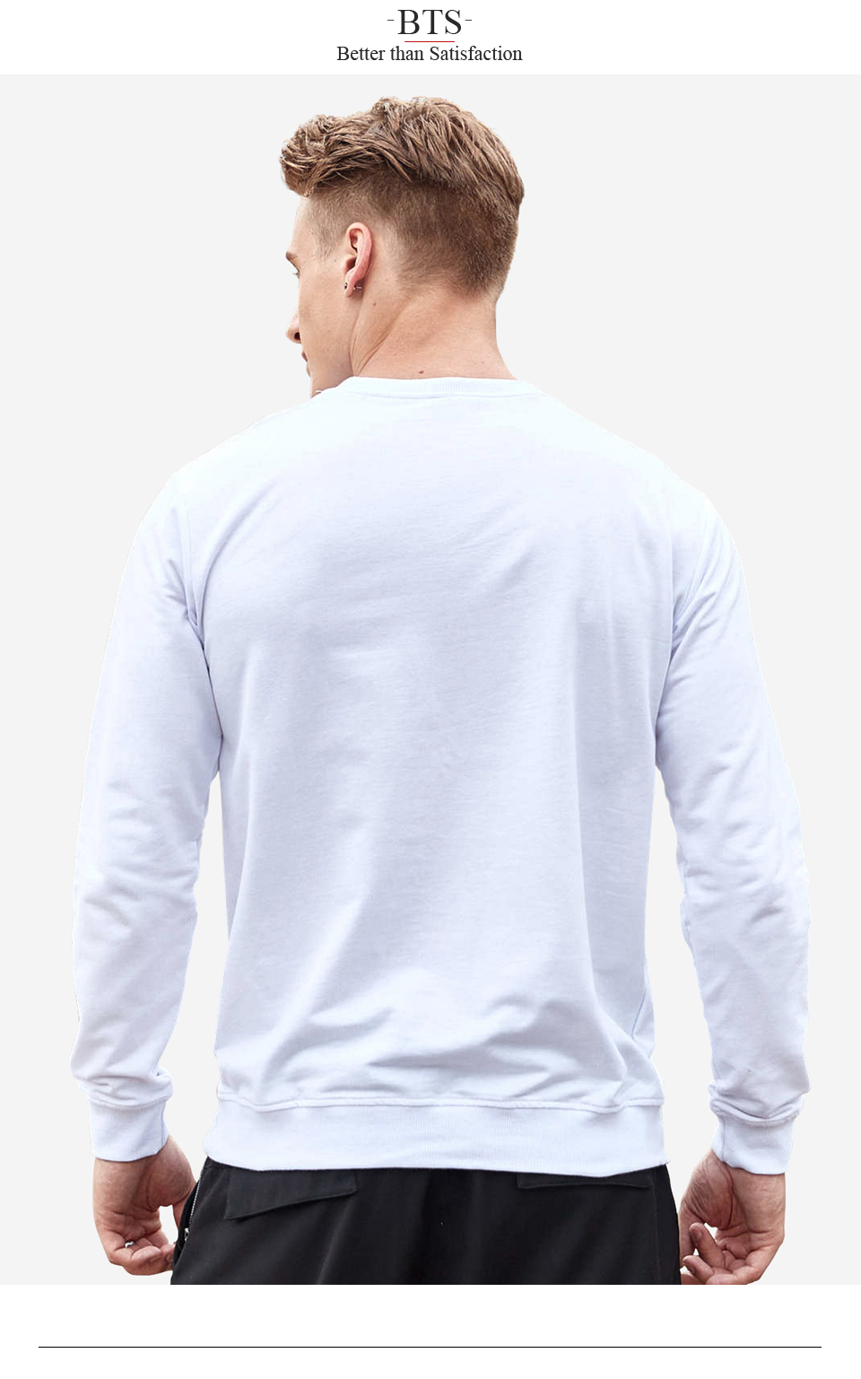 BTS David Guetta Man Hoodies Men Plus Size Creative Hipster Brand Sweatshirt Men Streetwear Cool Hoodies Sweatshirt Boys