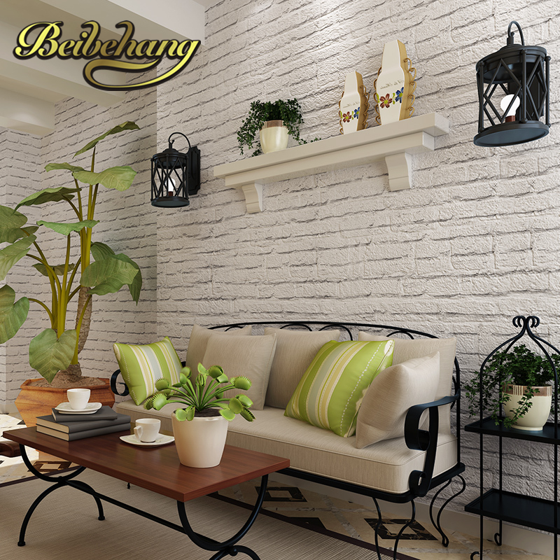 beibehang wall paper Pune Korean rice import gray brick green wallpaper plain paper background wallpaper warm living room bedro<br>