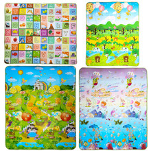 Letter Alphabet Mat Play Mat Baby Toddler Crawl Play Game Picnic Carpet
