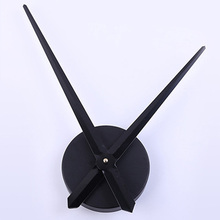 1 set Black Clock Mechanism Silent Quartz Wall Clock Mechanism Kit Shellhard For House Decorating Accessories