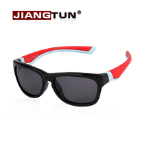 JIANGTUN Kids Sunglasses Boys Cool Glasses Safety UV400 Protection Glasses For Children Outside Google Oculos Infantil