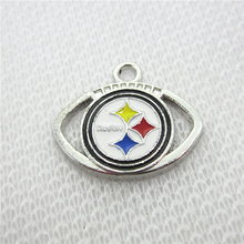 Buy 20pcs Pittsburgh Steelers sports Football dangle charms floating charms bracele/pendant hanging charms jewelry accessory for $7.19 in AliExpress store