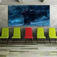 arthas lich king world of warcraft wrath Game American Style Canvas Unframed Spray Frameless Oil Painting hologram Realistic