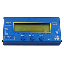 RC Helicopter Watt Meter DC 60V 100A Balance Voltage Battery Power Analyzer