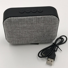 Fabric Net Bluetooth Speaker Wireless Outdoor Portable Speaker Lovely Bluetooth Speaker Support U-disk TF Card FM Radio 1Pcs