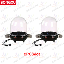SONGXU 2pcs/lot Beam Moving Head Light Waterproof cover for Stage DJ Club Nightclub Party Stage Light Outdoor Used/SX-AC014(China)