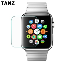 9H Tempered Glass Film For Apple iwatch 38mm 42mm Ultra Thin Slim Crystal Screen Protector Case Smart watch Clear glass