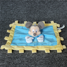 Free shipping 1pc New Mickey Minnie Plush blanket for Baby Toy Newborn Reassure Towel Snuggle Blanket for Kids