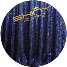 6x7ft Blue Sequin Photo Booth Backdrop Wedding Photobooth Props Shimmer Curtain