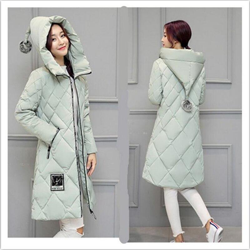 New Arrival 2017 Winter Down Coat Women Long Fashion Slim Female Warm parka Plus Size Hooded Wadded Women Down Jacket Jaqueta702Одежда и ак�е��уары<br><br><br>Aliexpress
