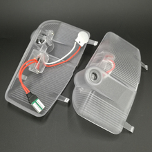 2PCS LED Car Door Light Ghost Shadow Laser Projector Logo Courtesy Step For Mazda 6 2004-2013