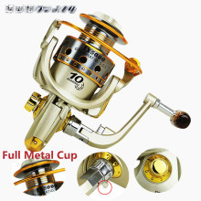 Spinning Fishing Reel Metal Coil 12 Ball Bearing JX1000-7000 Series 5.5:1 Spinning Reel Boat Rock Fishing Wheel reel