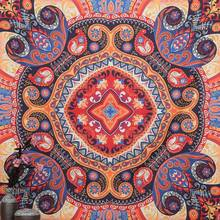 Indian Mandala Tapestry Beach Towel Yoga Mat Blanket Table Cloth Wall Hanging Tapestries Boho Bedspread
