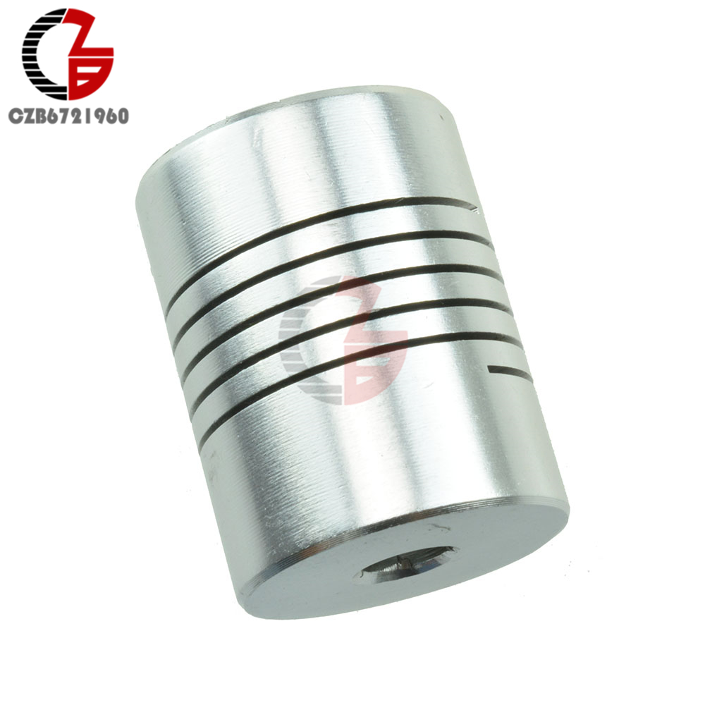 4PCS 5mmx10mm CNC Motor 3D PrinterJaw Shaft Coupler 5mm-10mm Flexible Coupling 5