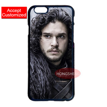 Game of Throne Jon Snow Hard Case for LG iPod 5 Samsung Note 3 4 5 S3 S4 S5 Mini S6 S7 Edge Plus iPhone 4 4S 5 5S 5C 6 6S 7 Plus