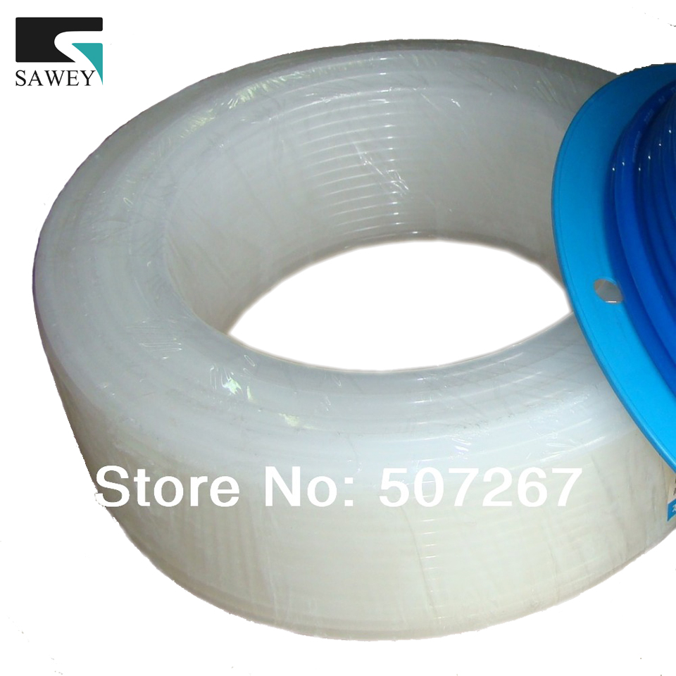 PE paint white oil hose, fluid hose roll, tube reels  6*8mm 100m/roll, anti-erode anti-corruption,oil fluid pipe, good stability<br>