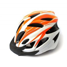 2014 NEW Cycling Bike Sports Bicycle Orange Adult Men Safety 18 Holes Helmet with Visor