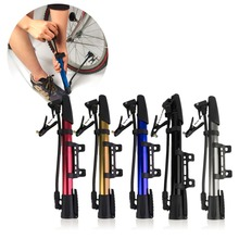 2017 New Inflator Bike Pump Aluminum Alloy MiniPortable Bicycle Tire Pump Ultralight Cycling Air Pump For Bike