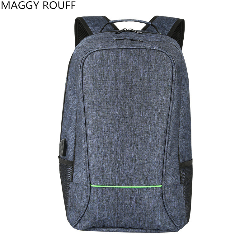 2018 New Mens Backpack 17-inch USB Charging Multi-Function Laptop Computer Backpack Leisure Travel Anti-theft Backpack Lady Bac<br>