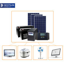 Bestsun off-grid home solar power system price for 1000W standard configuration(China)
