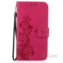 Funda PU Leather Flip Cell Mobile Phone Case For LG LS 770 Stand Wallet Card Slots Case Cover Cas For LG G4 Stylus portable capa(China)