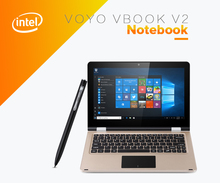 VOYO VBOOK V2 11.6 inch Laptop Windows 10 Intel Celeron N3450 Quad Core 4GB 64GB Dual Wifi 12000mAh 1920x1080 with Touch Pen