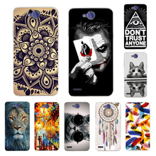"Cover For LG X power 2 Case 5.5"" Cool Painting Soft Silicone TPU Cover Case For LG X power2 Phone Cases Protective Cover"