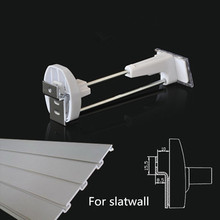 (50 pcs/pack ) mobile phone retail shop accessories hanging security hook 7 inch white color fit for slatwall