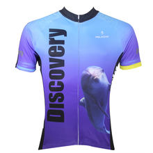 Outdoor PALADIN Men Bike Jersey Sharks Dolphins Pro MTB Cycling Jersey Short Sleeve Sports Wear Cycling Top summer Shirt(China)
