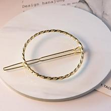 Timlee H138 Free shipping Beautiful Round Metal Barrettes Hair Pins Clip Hair accessory wholesale