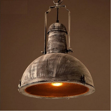 American Country Loft Style Iron Edison Pendant Lights Fixtures Network Rail Vintage Industrial Lighting For Bar Hanging Lamp(China)