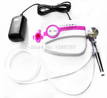 ABEST New Portable Airbrush Compressor kit Dual action airbrush makeup tattoo 5 speed AC05PK30